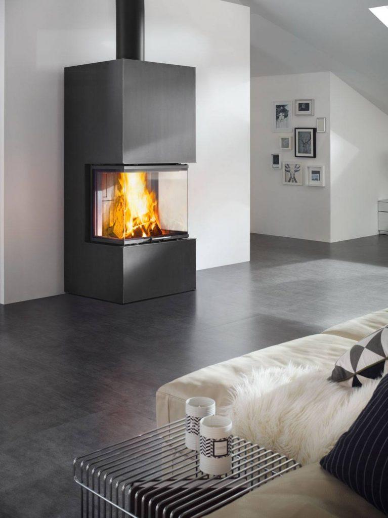 semineu modern ares seminee de vis. Black Bedroom Furniture Sets. Home Design Ideas